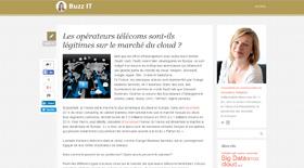 Opérateurs télécom et marché du cloud - Claire Gerardin
