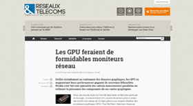 Video GPU moniteurs réseau - Claire Gerardin