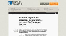 Clermont Communauté passe sa ToIP en open source - Claire Gerardin
