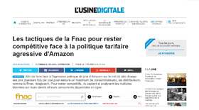 Fnac vs Amazon - Claire Gerardin
